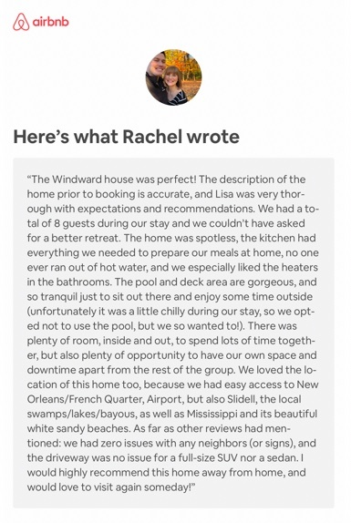 New Orleans Vacation Homes - Review 1